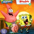 SpongeBob Squarepants - Sticker by Number Activity Book Over 140 Stickers v2