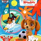 Nickelodeon Paw Patrol - Sticker by Number Activity Book Over 140 Stickers v2