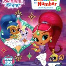 Nickelodeon Shimmer Shine - Sticker by Number Activity Book Over 130 Stickers