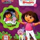 Nickelodeon Dora the Explorer - Sticker by Number Activity Book Over 160 Stickers