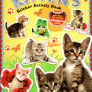 Kittens - Sticker Activity Book - More Than 100 Reusable Stickers Inside