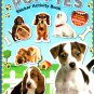 Horses & Ponies, Puppies, Kittens - Sticker Activity Book - More Than 100 Reusable Stickers Inside
