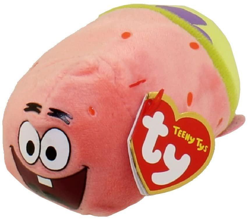 Patrick Starfish Teeny Ty (Spongebob) - Stuffed Animal by Ty (42189) r 031