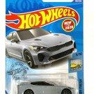 DieCast Hotwheels 2019 Kia Stinger GT 198/250 Gray [Factory Fresh 3/10]