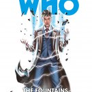 Doctor Who: The Tenth Doctor Vol. 3: The Fountains of Forever Hardcover Book