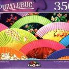 Beautiful Folding Fans - 350 Pieces Jigsaw Puzzle