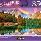 Fusine Lake in Front of Mt. Mangart, Italy - 350 Pieces Jigsaw Puzzle