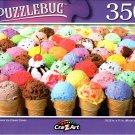 Every Flavor Ice Cream Cones - 350 Pieces Jigsaw Puzzle