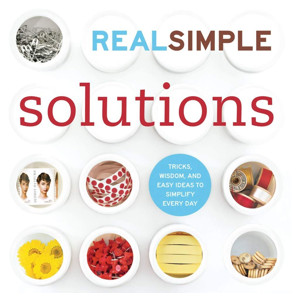 Real Simple Solutions Paperback Book