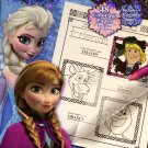 Disney Frozen Trace & Learn Drawing & Activity Book