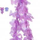 Fancy Nancy Purple Boa + 2 Hair Clips, 46 Inches Long
