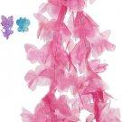 Fancy Nancy Pink Boa + 2 Hair Clips, 46 Inches Long