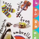 Greenbrier International Creative Learning Alphabet Tabbed Board Book + 10 Song Download