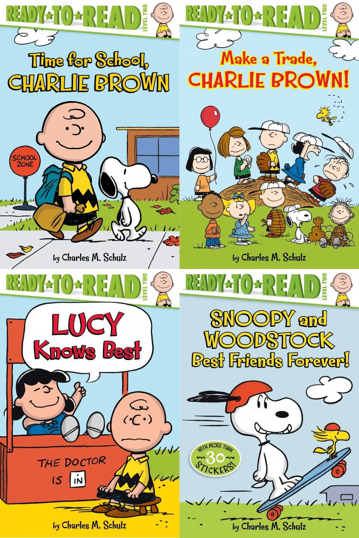 Peanuts - Set of 4 Books