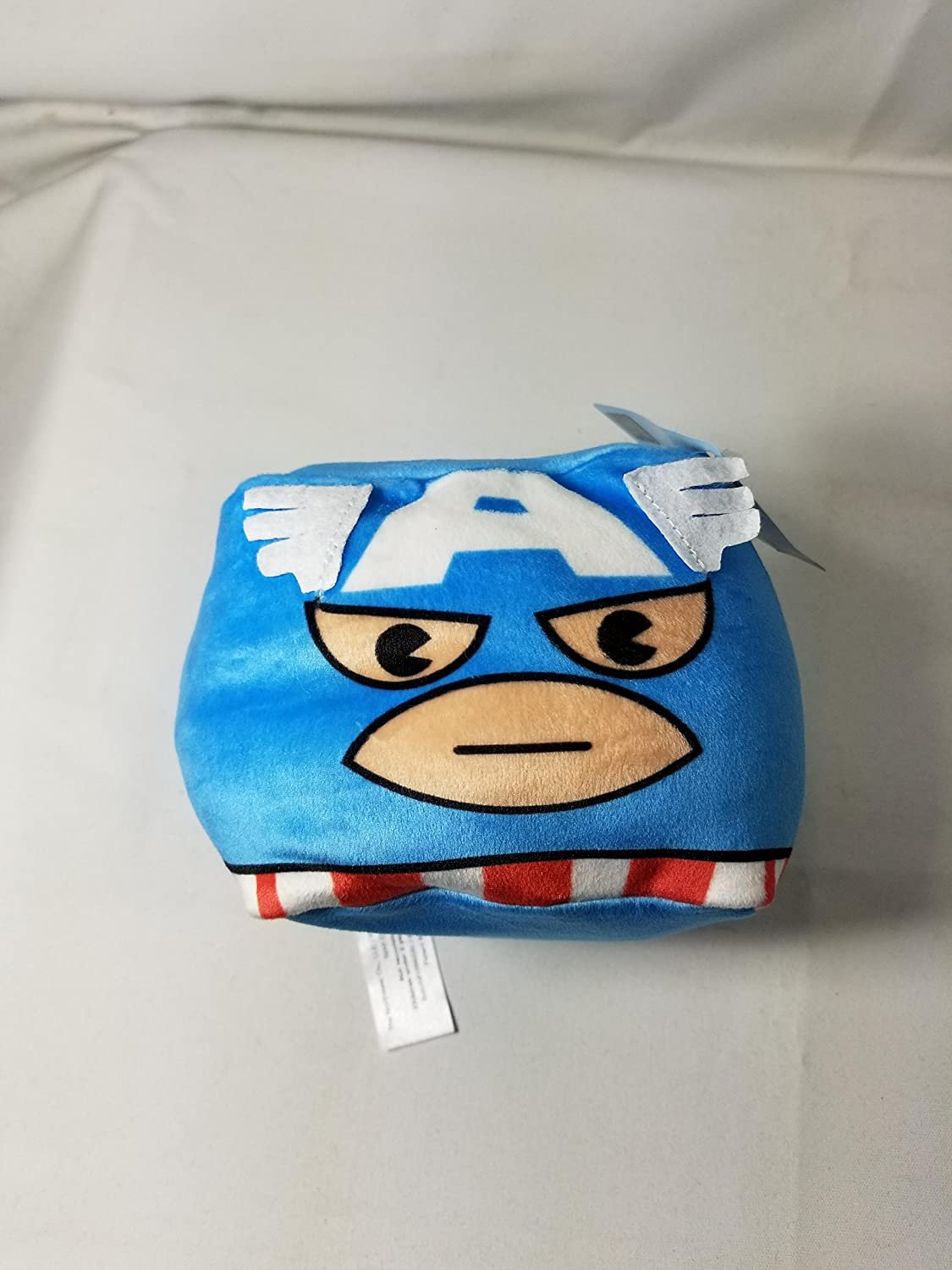 Captain America Plush Mini Travel Pillow by Cubs Collectibles.
