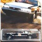 Matchbox '93 Ford Mustang LX SSP Police 2/12, Black