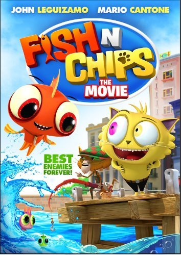 Fish 'n Chips: The Movie DVD