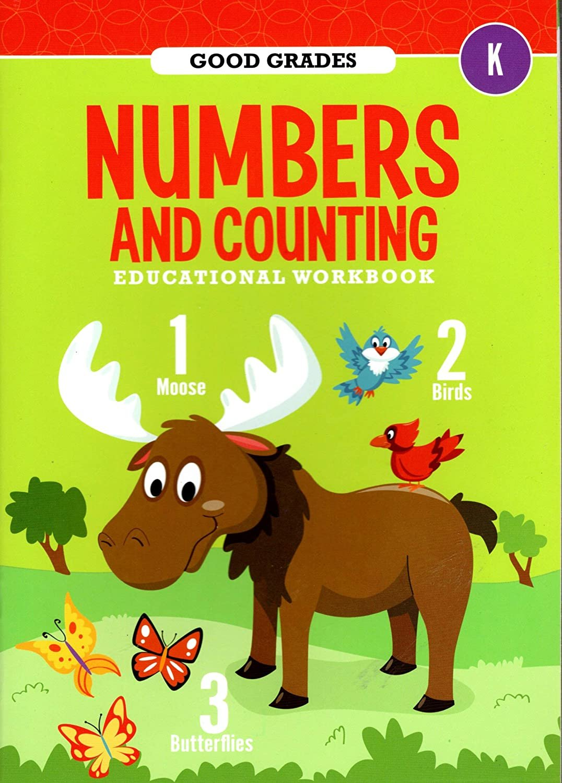 Good Grades Kindergarten Educational Workbooks Numbers & Counting - v4