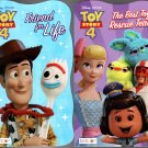 Disney Pixar - Toy Story 4 - Friend for Life & The Best Toy Rescue Team (Set of 2 Books)