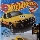 DieCast Hotwheels Porsche 914 Safari 242/250 [Yellow], Nightburnerz 4/10