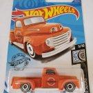 Hot Wheels 2020 Rod Squad '49 Ford F1, Orange 120/250