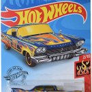 DieCast Hotwheels '57 Plymouth Fury 168/250 [Blue], Flames 2/10