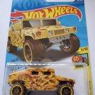 Hot Wheels 2020 Hw Art Cars Humvee, Yellow 161/250