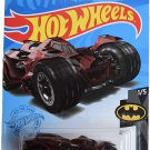 DieCast Hotwheels Batman Arkham Knight Batmobile, Batman 1/5 [red]