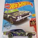 Hot Wheels 2020 Hw Flames '69 Dodge Charger 500, Purple 189/250