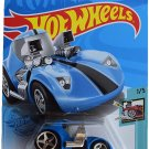 DieCast Hotwheels Tooned Twin Mill, Tooned 1/5 [Blue]