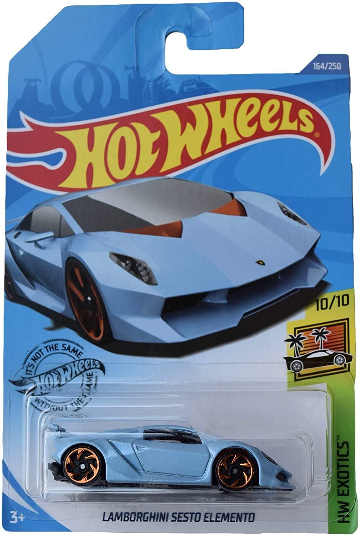 Hot Wheels Sesto Elemento 164/250, Blue