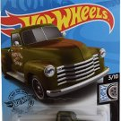 DieCast Hotwheels '52 Chevy [Green], Rod Squad 3/10 [Ship in Protector case]