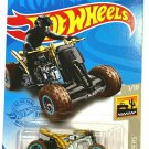 DieCast Hotwheels Baja Blazers 1/10 [Quad Rod] 2/250 Gold