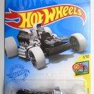 DieCast Hotwheels Rigor Motor 19/250 (Black and White), HW Art Cars 1/10