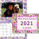 2021 Photo Frame Wall Spiral-bound Calendar - (Edition #024)