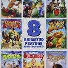 8 Animated Feature Films, Vol. 2 DVD