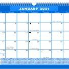 2021 Monthly Spiral-Bound Calendar - Edition #06