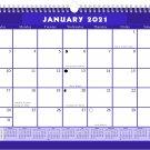 2021 Monthly Spiral-Bound Calendar - Edition #07