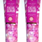 Facial Scrub Rose Water + Honey (invigorate and Cleanse your Skin) 5fl oz (147.8ml) (Set of 2 Pack)
