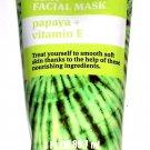 Clay Facial Mask Papaya + Vitamin E 3fl oz 88.7ml