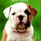 Puppies 2021-2022 2 Year Pocket Planner/Calendar/Organizer - Monthly Page Format - v2
