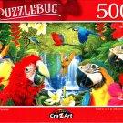 Parrot Paradise - 500 Pieces Jigsaw Puzzle