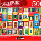 Colorful Windows and Doors of Burano - 500 Pieces Jigsaw Puzzle