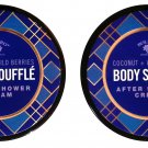 Body Souffle Coconut + Wild Berries After Shower Cream 5fl oz (147.8ml) (Set of 2 Pack)