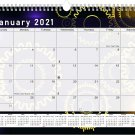2021 Monthly Spiral-Bound Calendar - Edition #09