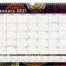 2021 Monthly Spiral-Bound Calendar - Edition #012