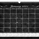 2021 Monthly Spiral-Bound Calendar - Edition #017