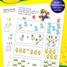 Crayola Addition, Beginning Sounds, Rhyme Time, & Shapes, Basic Skills Activity Book 4-Pack