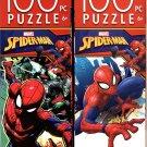 Marvel Spider - Man - 100 Piece Jigsaw Puzzle (Set of 2) - v6