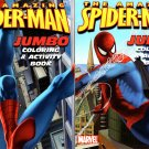 The Amazing Spider-Man - Jumbo Coloring & Activity Book - (Set of 2 Books)